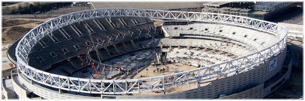 Cubierta del Estadio Metropolitano