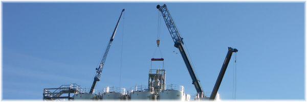 Montaje de batería de silos