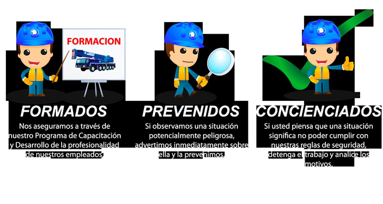 Formados, Prevenidos, Concienciados